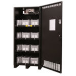 BC43 Top Terminal Battery Cabinet Open Image