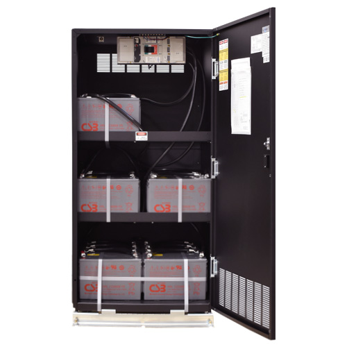BC25 Battery Cabinet Open Image