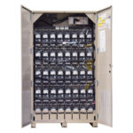 UBC64 Battery Cabinet Beige Open Image