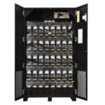 UBC64 Battery Cabinet Black Open